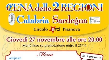 Cena delle 2 Regioni – Calabria Sardegna