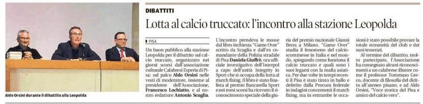 L'Associazione Esperia sul Tirreno . In evidenza l'iniziativa che si è svolta il 19 aprile