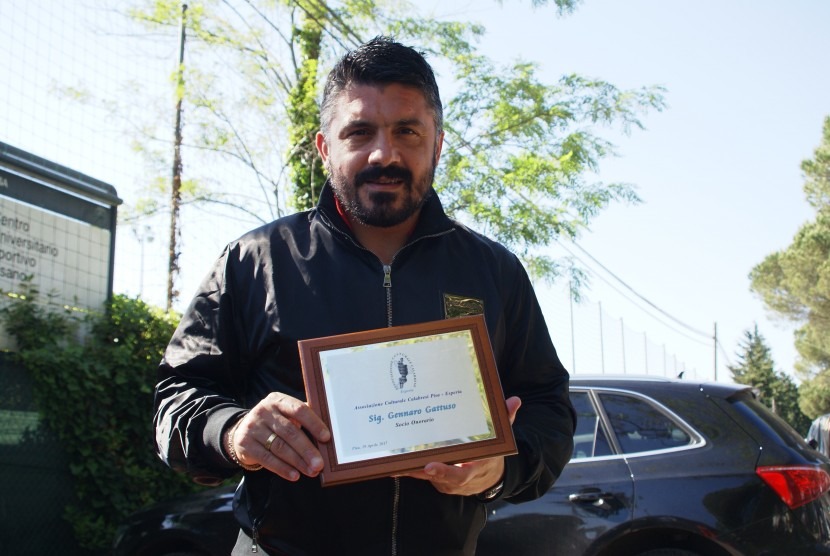 Gennaro Gattuso, socio onorario di  Esperia