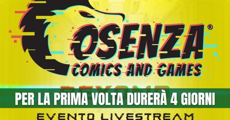 Cosenza comics, dal 20 al 23 maggio