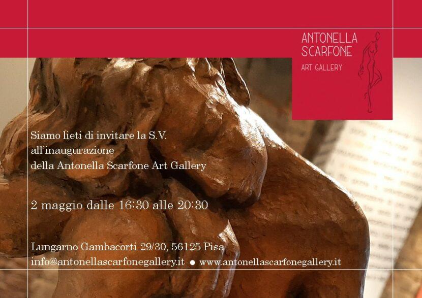 Inaugurazione galleria d'Arte di Antonella Scarfone Pisa